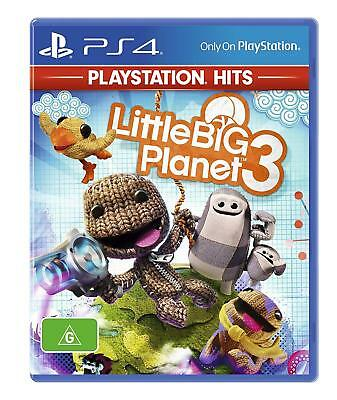 LittleBigPlanet 3 PlayStation Hits PS4 Game NEW | FAST & FREE POSTAGE