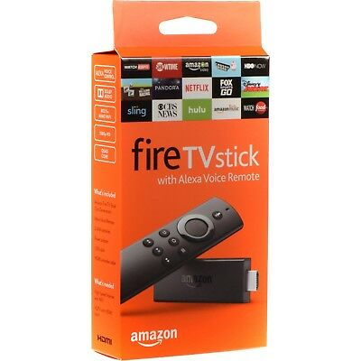 Amazon Fire Tv Stick w/Alexa Voice Remote Streaming 2nd Gen! BRAND NEW