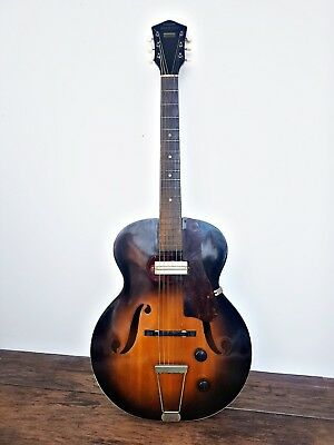 RARE Vintage 1953 HARMONY H51 ACOUSTIC ELECTRIC GUITAR - Gibson P13 Pickup