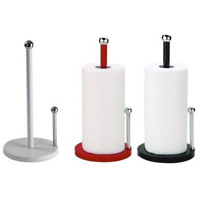 New Stand Up Paper Towel Holder Metal Sturdy Kitchen Counter Top Decorative