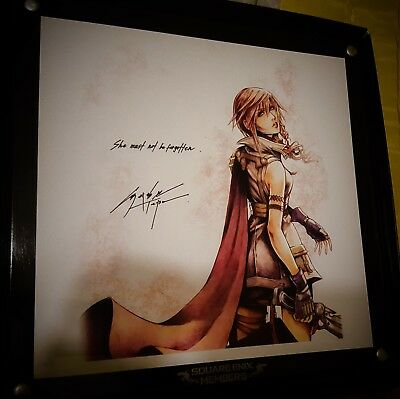 SQUARE ENIX MEMBERS Final Fantasy Ultimate Member Limited Plate XIII Lightning
