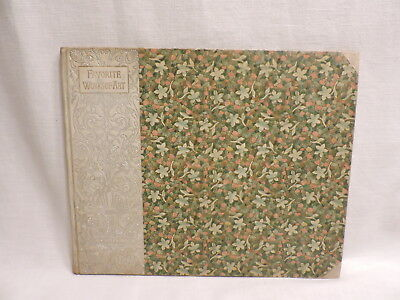 Antique Book Favorite Works of Art by F. A. Stokes Co 6 Photogravures 1890s Rare