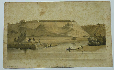 1849 Fort Snelling Engraving Captain Seth Eastman Dahcotah Sioux Frontispiece