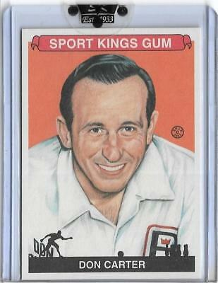 Awesome 2007 Sport Kings Don Carter Card #10 ~ Pba ~ Mr Bowling ~ All Time Great