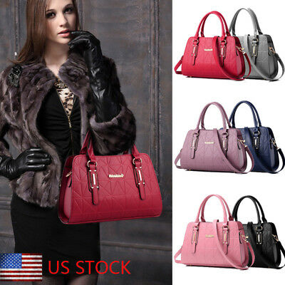 Fashion Women's Leather Handbag Shoulder Lady Crossbody Bag Tote Satchel Purse