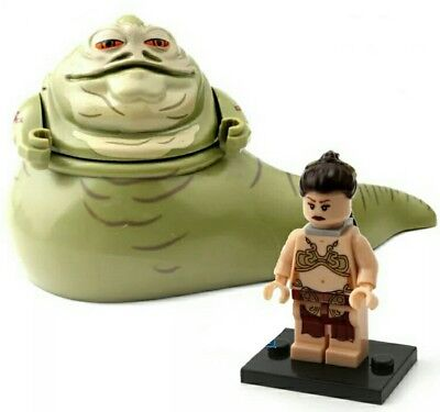 Lego Star Wars Jabba The Hutt with Princess Leia chain Minifigure