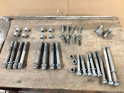Harley Ironhead Sportster Hardware Lot Case Bolts Cylinder Head Base Lifter