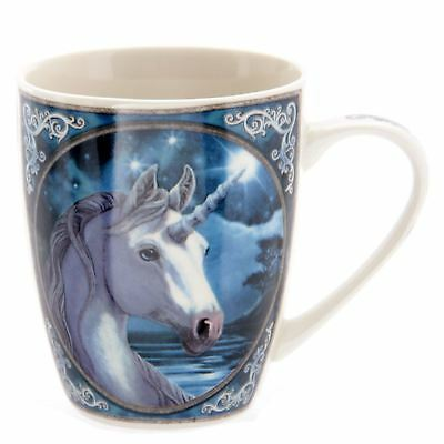 Lisa Parker Unicorn Mug The Sacred One Bone China Fantasy Magic Legend Licensed