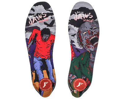 Footprint Elite Pro Scooter Insoles Jaws Zombie Skate Impact Absorbing Insoles
