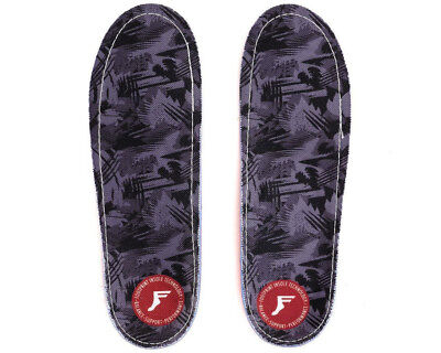 NEW Footprint Gamechanger Pro Insoles Grey Camo Skate Impact Absorbing Insoles