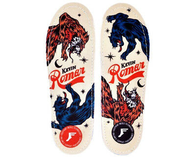NEW Footprint KF Orthotic Pro Insoles Kevin Romar Skate Impact Absorbing Insoles