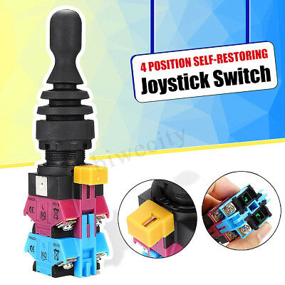 4NO 4 Position Momentary Type Monolever Joystick Switch Self-restoring HKD-FW24