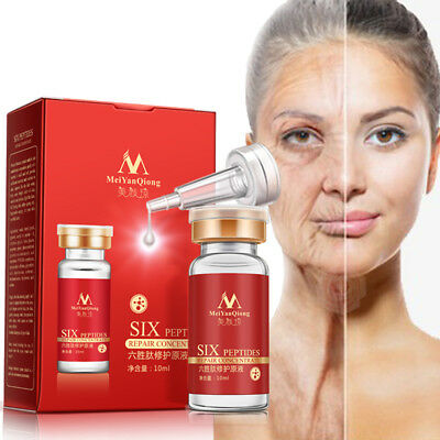 10ml Six Peptides Repair Concentrate Moisturizing Anti-Wrinkle Facial Care Serum