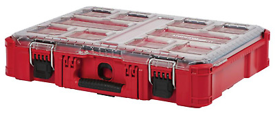 Small Parts Organizer Box Storage 11 Compartment Heavy Duty Packout Milwaukee