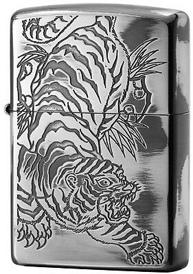 ZIPPO Lighter NO200 Japanese design Tiger Silver 1201S541 from Japan Best Buy