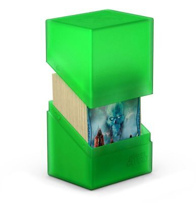 Ultimate Guard - Boulder Deck Case 80+ Emerald - Gaming Card Box for Arkhive