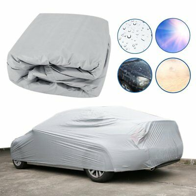 Waterproof Large Full Car Cover 2Layer Heavy Duty Breathable UV Protection AU