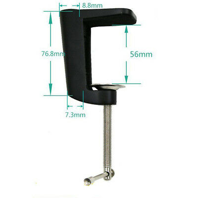 Heavy-duty Metal Table Mounting Clamp for Suspension Arm Stand Holder