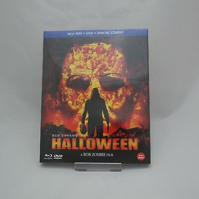 Halloween (2018, DVD & Blu-ray) Combo Slip Case Edition / Rob Zombie