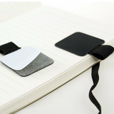 1/2PCS Selbstklebende Stifthalter Clip Lederband Notebook Travel Diary Fitting