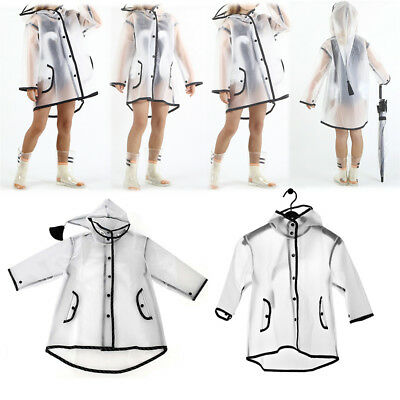 Children's Waterproof Rain Coat Boys Clothes Girls Jacket Rainwear Rainsuit