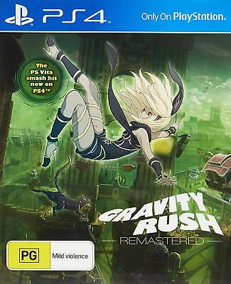 PS4 Gravity Rush Remastered Playstation 4 Game BRAND NEW SEALED