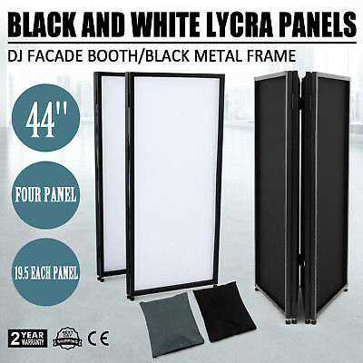 DJ Musician Event Facade Scrim Screen Metal Frame Booth With Carrying Bag MX