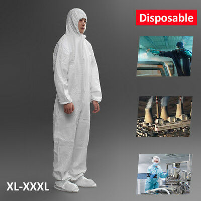 Protective Clothing Disposable Suit Overall Coverall Work Clothe breathable film