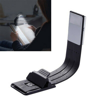 USB Rechargeable LED Book Light Flexible Clip On Book Light Reading Lamp Sweet