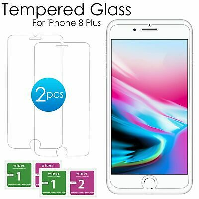For iPhone 8 Plus Tempered Glass Screen Protector – CRYSTAL CLEAR