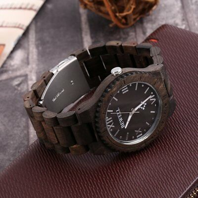 Bewell W065A High Quality Wooden Watches Men's Quartz Wrist Watch SW