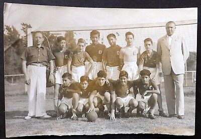 Vintage Press Photo: 1952 Mundo Infantil . Argentine Club Football team photo