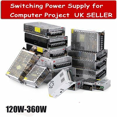 DC 12V/24V LED Driver Switching Power Supply Transformer for LED Strip CCTV PC G