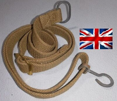 "Bretelle pour PM STEN datée 1944 + "" brocken arrow"" ( canvas sten gun sling MK"