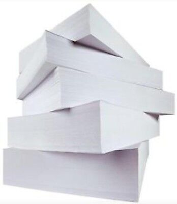 100 Sheets A4 75gsm Paper Cheap White Printer Copier Office Home Copy printing