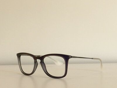 571d4dd7d5 39 Ray Ban RB 4221 6168 4V Rectangle Purple Sunglasses Frame No Lenses 50-