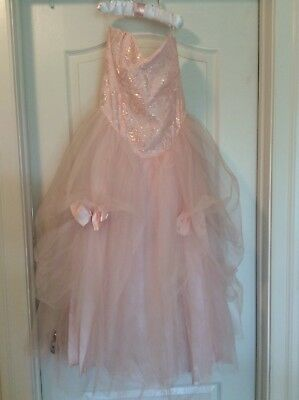 f5c0bf4d68e Vintage 80 s Gunne Sax by Jessica McClintock prom   formal dress in pink- size 7