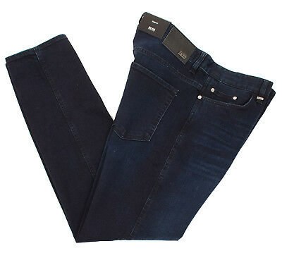 7ec72154 Hugo Boss Delaware 3 Slim Fit 50374750 415 Men's Blue Jeans Pants Multisize