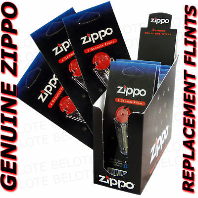 Genuine Zippo Replacement Flint 2406N 24 Packs 144 Flints FREE SHIPPING NEW
