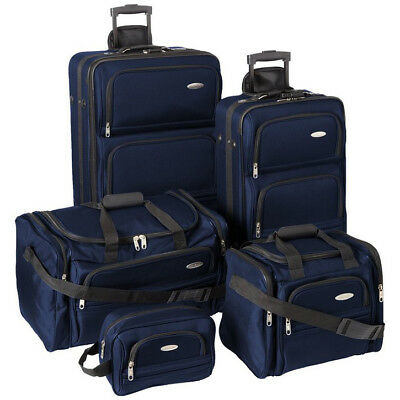 Samsonite 5 Piece Nested Luggage Set (Navy)