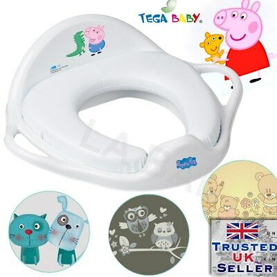 Peppa Pig Toddler Toilet Training Non Slip Secure Up Step