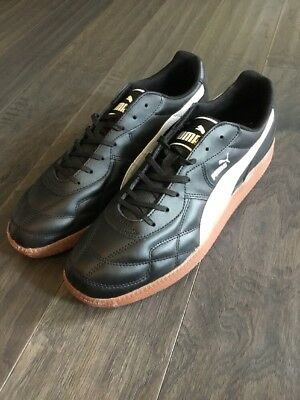 Puma Esito Classic Sala Shoes New Men s Size 12 Black Sneakers 102549 01 2679a8214b