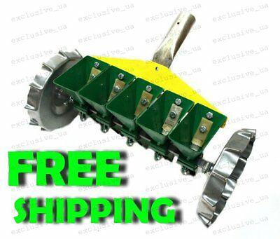 Garden Precision Seeder Vegetable 5 Row Manual Planter sowing small seeds