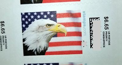 Priority Mail Postage Sample Stamps, 1 pcs 6.65 + 1 pcs 5.60, Total 2 pcs Stamps