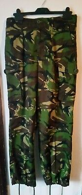 Army Issue combat camo trousers 80/80/96