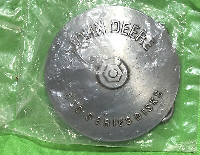 Vintage 1989 John Deere 600 Series Disks Belt Buckle FREE SHIPPING
