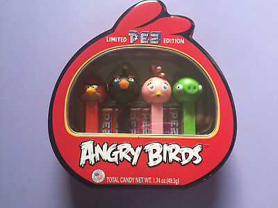 PEZ Angry Birds Collectors Tin -- BRAND NEW -- Pez Limited Edition ANGRY BIRDS