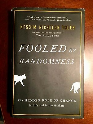 Incerto Fooled By Randomness The Hidden Role Of Chance In Life