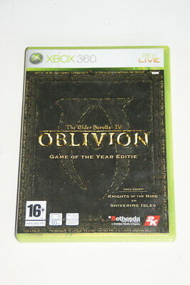 the Elder Scrolls IV Oblivion Game of the Year Edition Xbox 360 - Used
