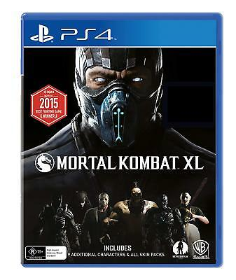 Mortal Kombat X XL Playstation 4 (PS4) Game Brand New In Stock FAST FREE POST